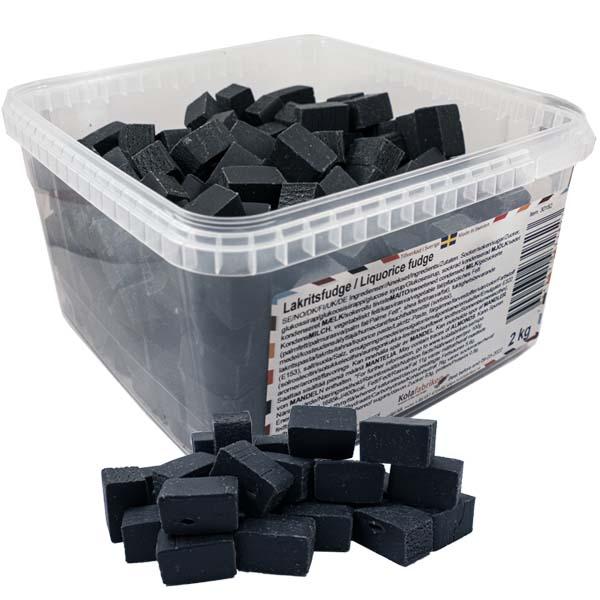 Kolafabrikens Lakritsfudge - 2 kg
