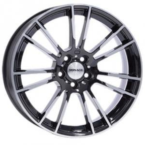 Monaco MC8 Gloss Black Polished 8.5x19 5/112 ET30 B66.6