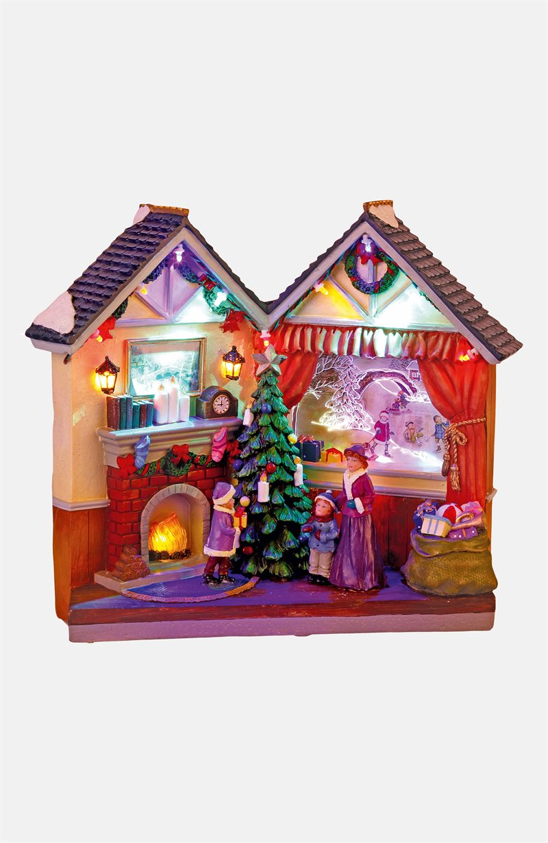 Joulukoriste talo Cardiff