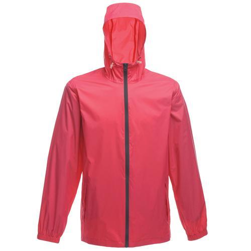 Regatta Unisex Avant Mesh Lined Waterproof Jacket Various Colours T_TRW476 - Hot Pink XS