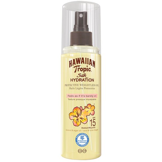 Silk Hydration Dry Oil Mist, 150 ml Hawaiian Tropic Päivetys