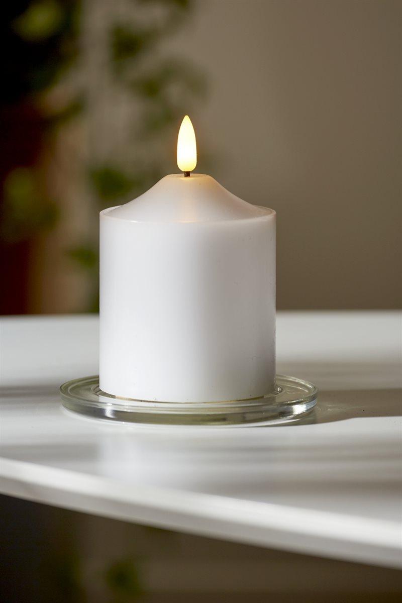 LED-pöytäkynttilä 9 cm Flamme