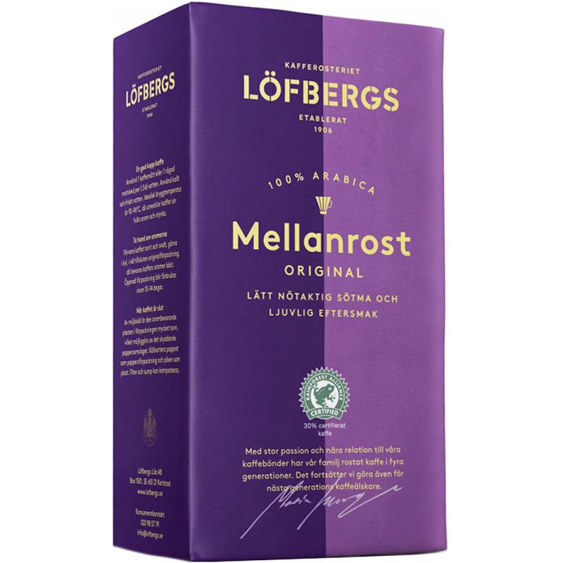 """Bryggkaffe """"Mellanrost"""" 500g - 19% rabatt"""
