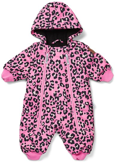 Nordbjørn Snowcub Vinterdress Baby, Pink Leo 68