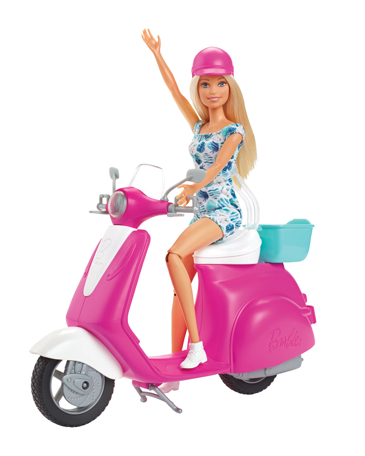Barbie - Doll and Scooter (GBK85)