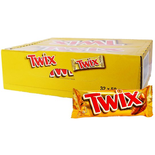 Hel Låda Twix - 57% rabatt