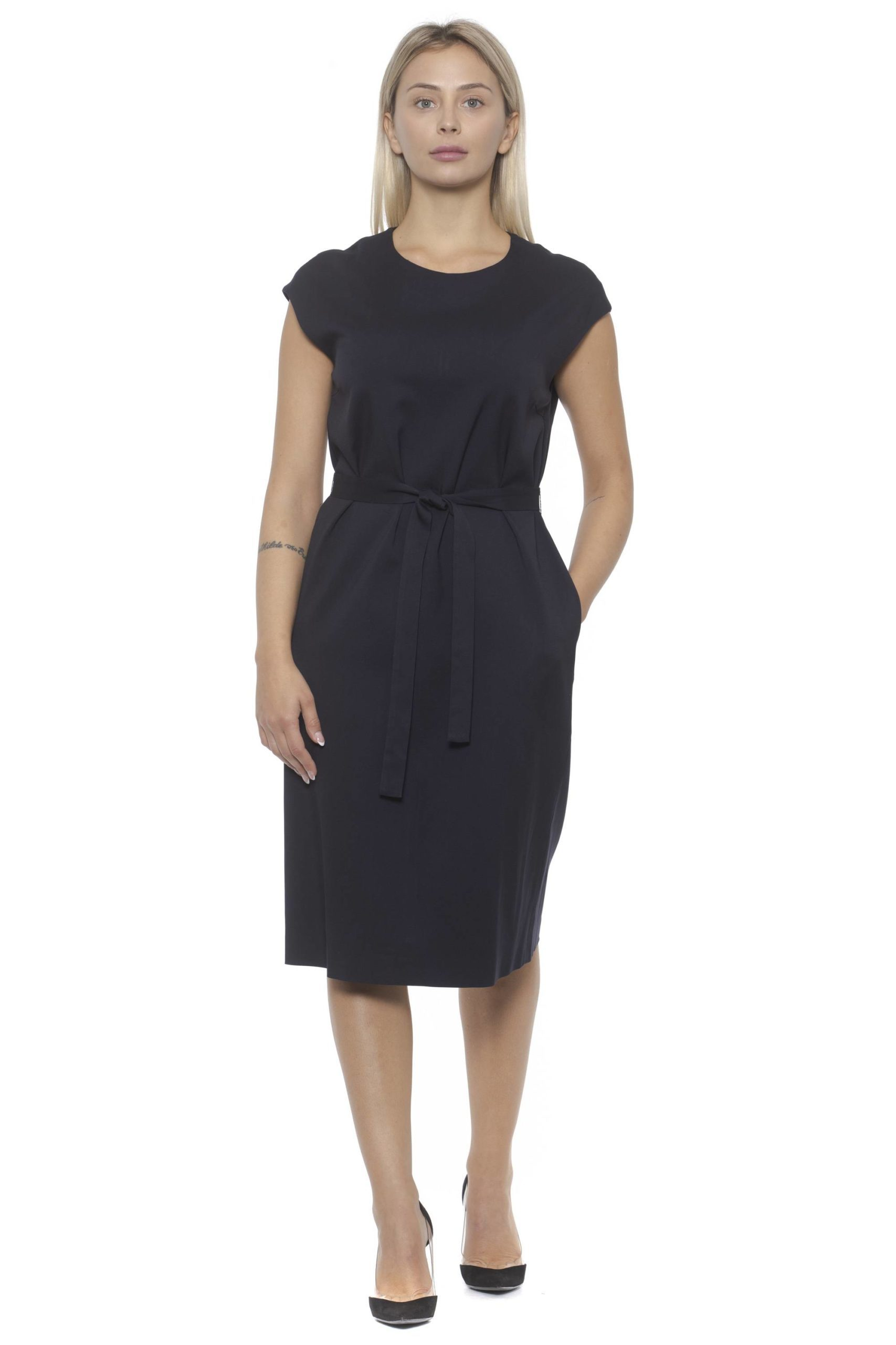 Peserico Women's Dress Blue PE1383174 - IT42 | S