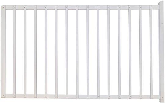 SEGR Sammenleggbar Grind Standard 100 cm, Hvit