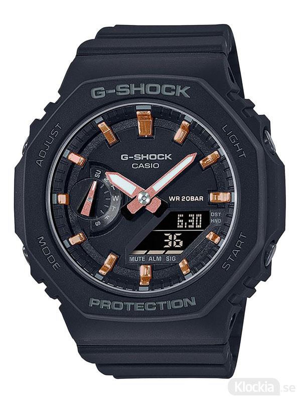 CASIO G-Shock GMA-S2100-1AER Svart klocka