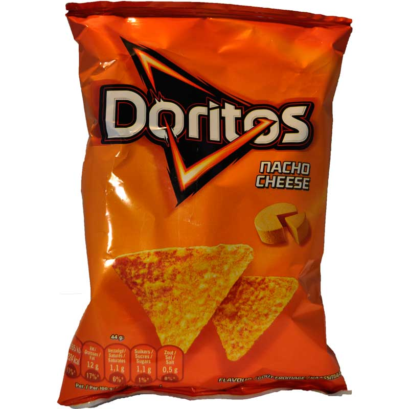 Doritos Nacho Cheese portionspåse - 37% rabatt