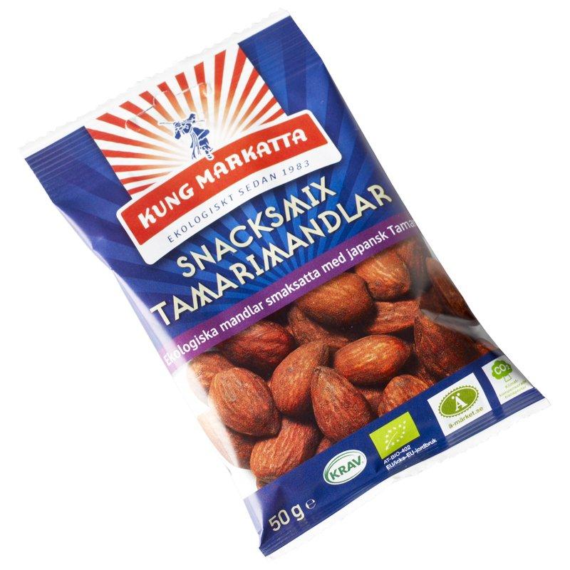 Eko Snacksmix Tamarimandlar 50g - 50% rabatt