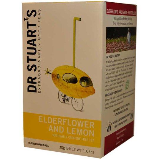 elederflower & lemon te - 62% rabatt