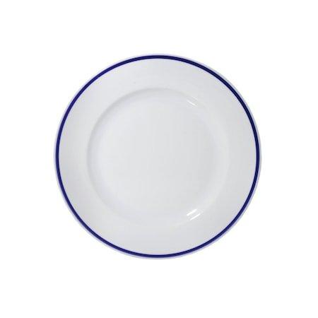 4 Vindars Hus Tallerken 30,5 cm Hvit/Blå
