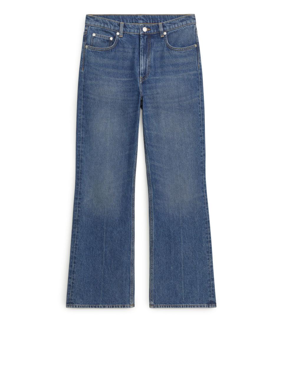 SLIM Flared Jeans - Blue
