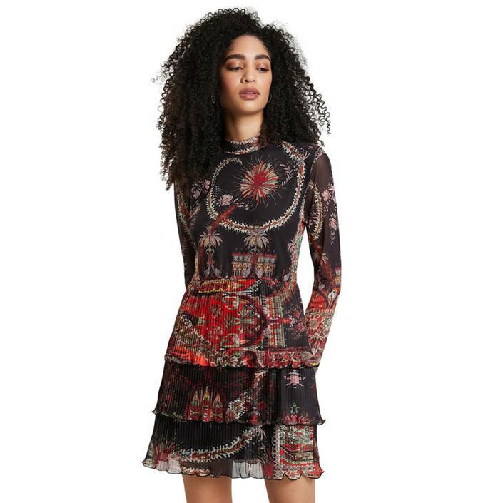 Desigual Women's Dress Orange 319457 - orange XS