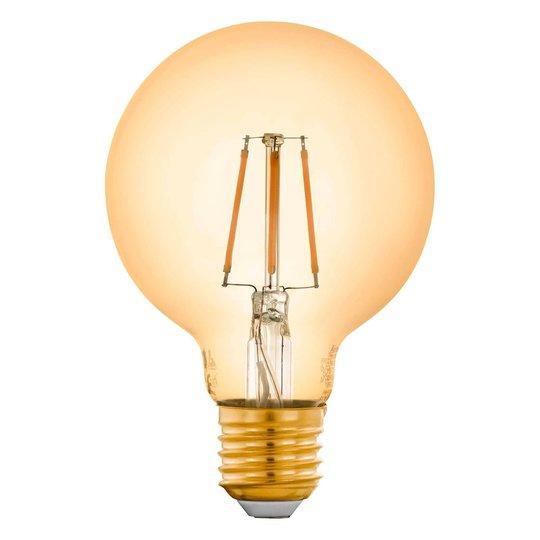 EGLO connect E27 5,5W-globe-lamppu G80 amber 2200K