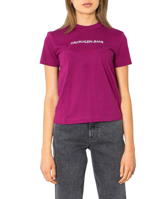 Calvin Klein Jeans Women T-Shirt Various Colours 299673 - purple XS