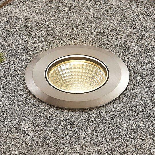 LED-lattiauppovalaisin Sulea, IP67, pyöreä