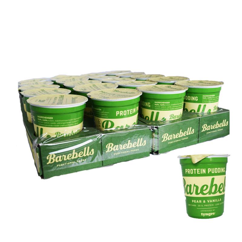 "Hel Platta Proteinpudding ""Pear & Vanilla"" 20 x 200g - 80% rabatt"