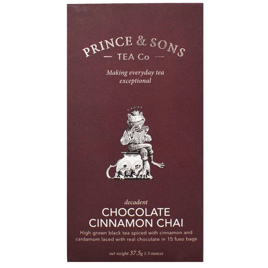 """Te """"Chocolate, Cinnamon Chai"""" 37,5g - 63% rabatt"""