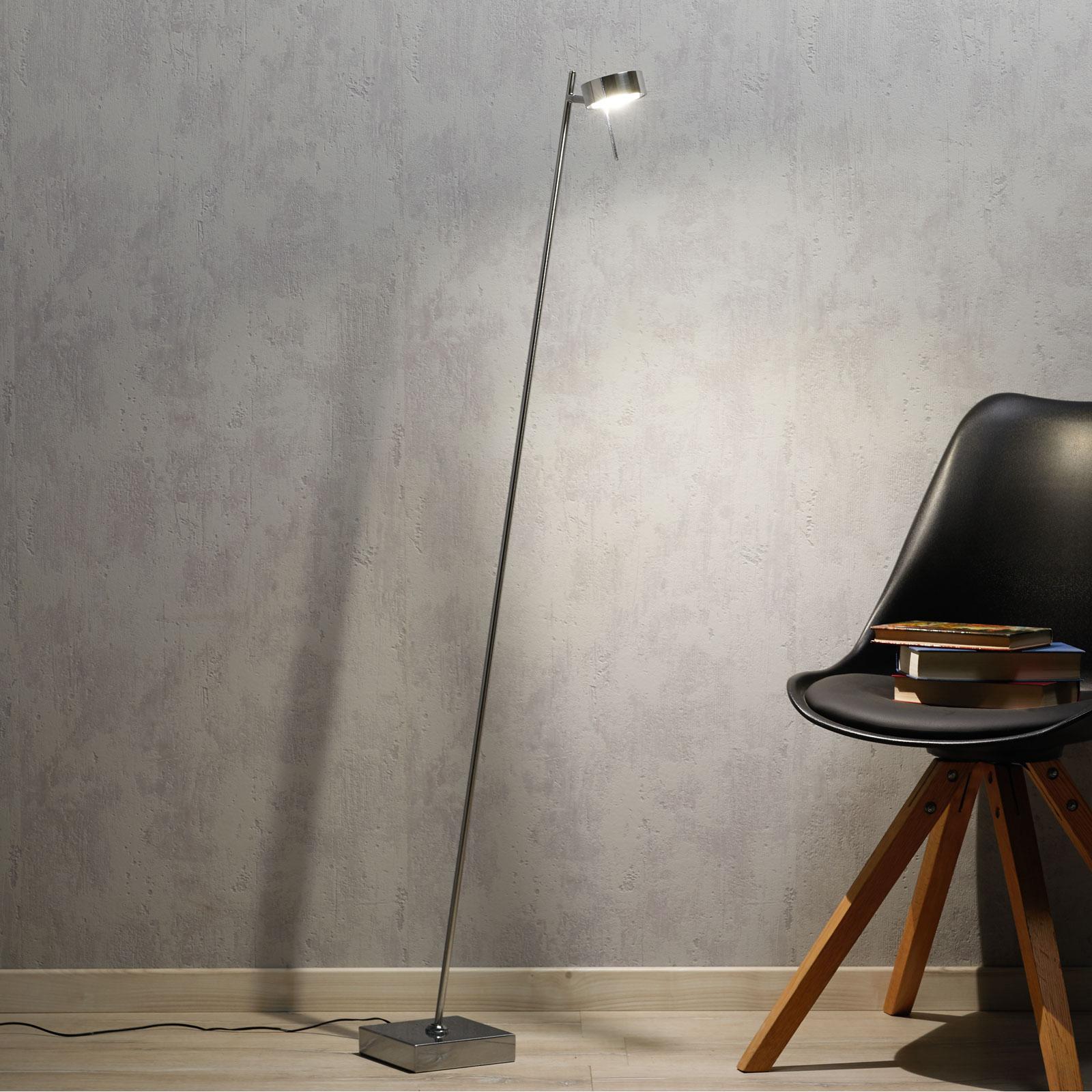 LED-lattiavalaisin Bling himmennys 1 lamp. kromi