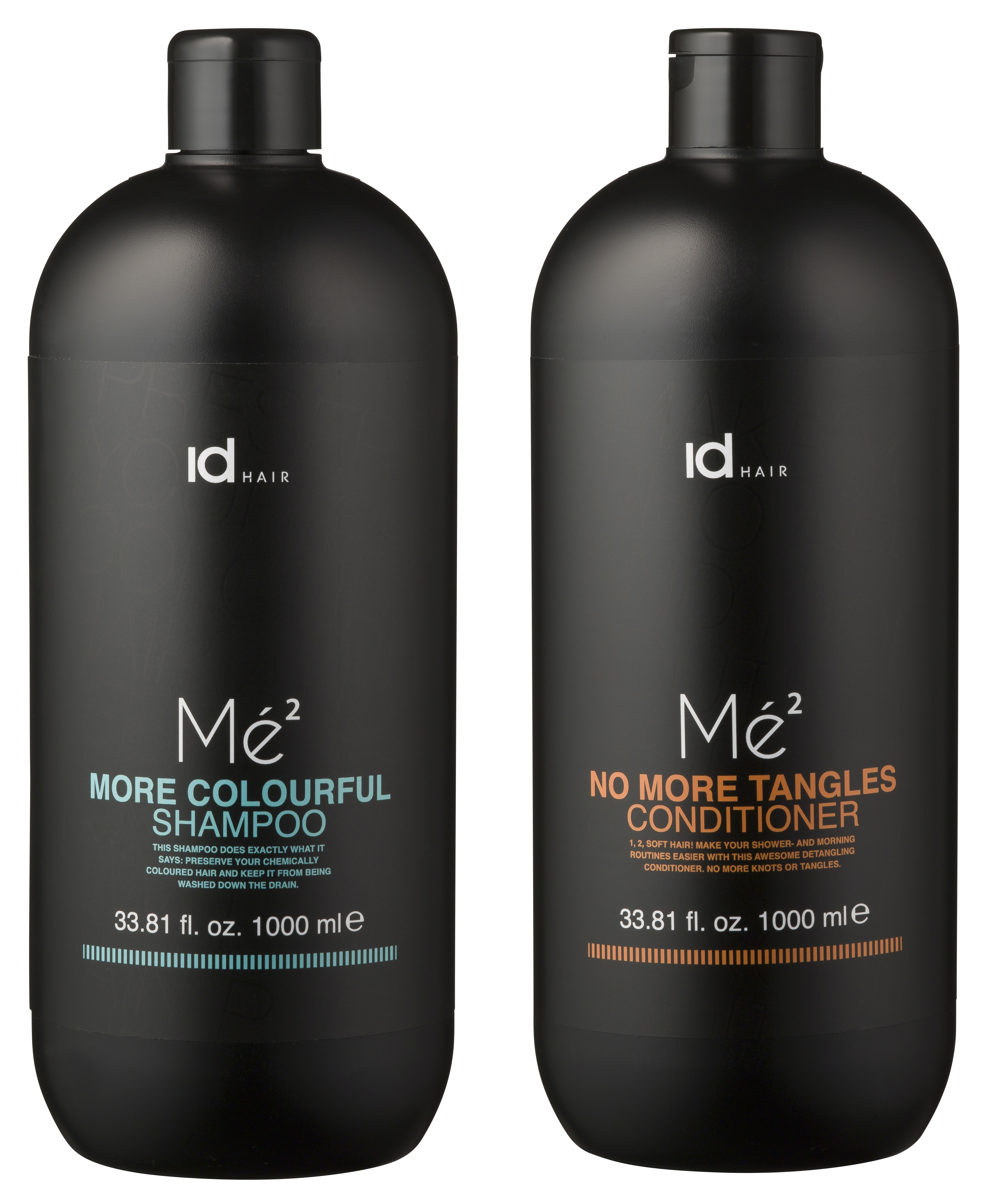 IdHAIR - Mé2 Shampoo Colour 1000 ml + Conditioner 1000 ml