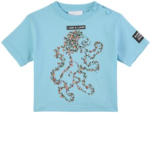 Burberry Floral Lion T-shirt Blå 6 mån