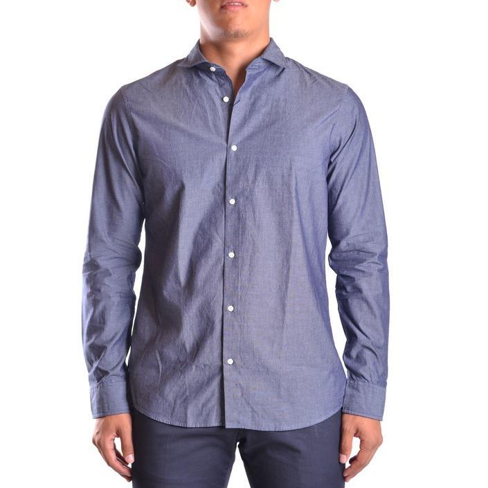 Michael Kors Men's Shirt Blue 161530 - blue S