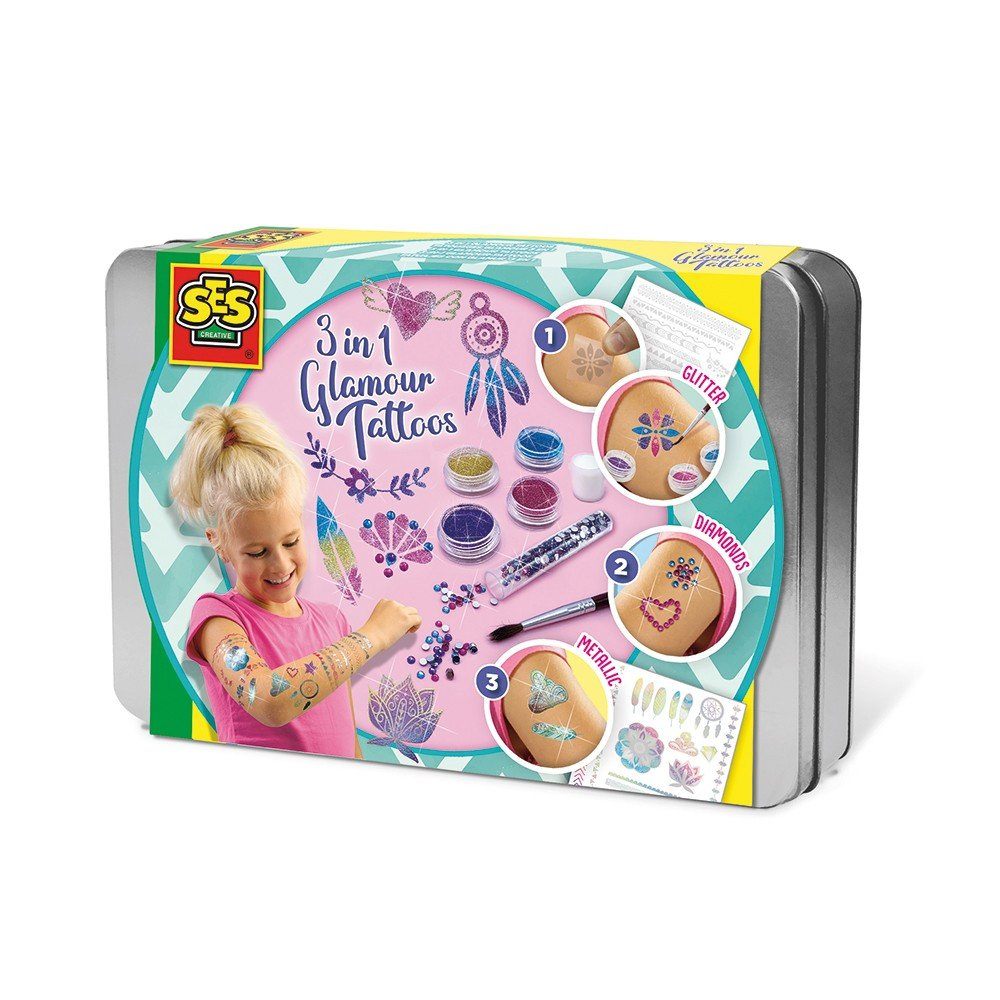 SES Creative - 3 in 1 Glamour tattoos (S14155)