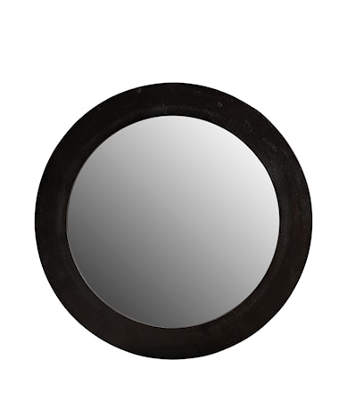 ENYA mirror round black (SP950)