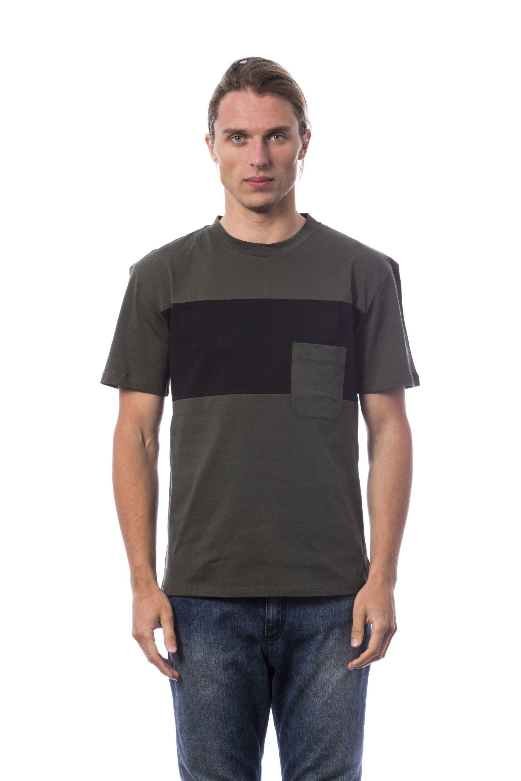Verri Men's Military T-Shirt Black VE678949 - L