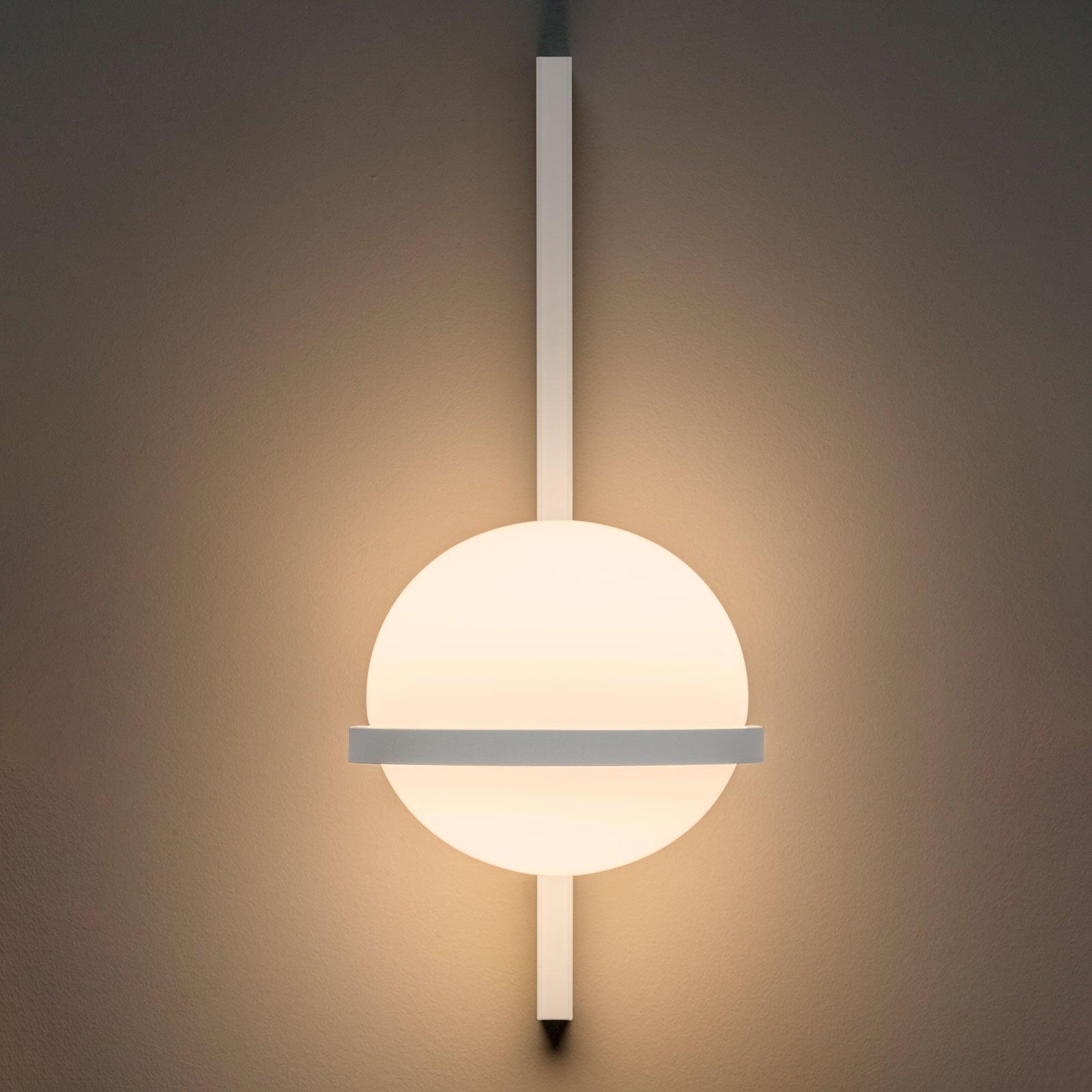 Vibia Palma 3710 LED-vegglampe, hvit