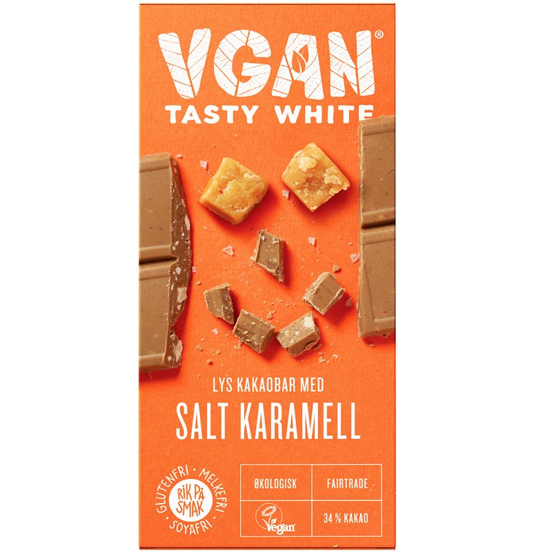 Eko Choklad Mandlar & Salt Karamell - 36% rabatt