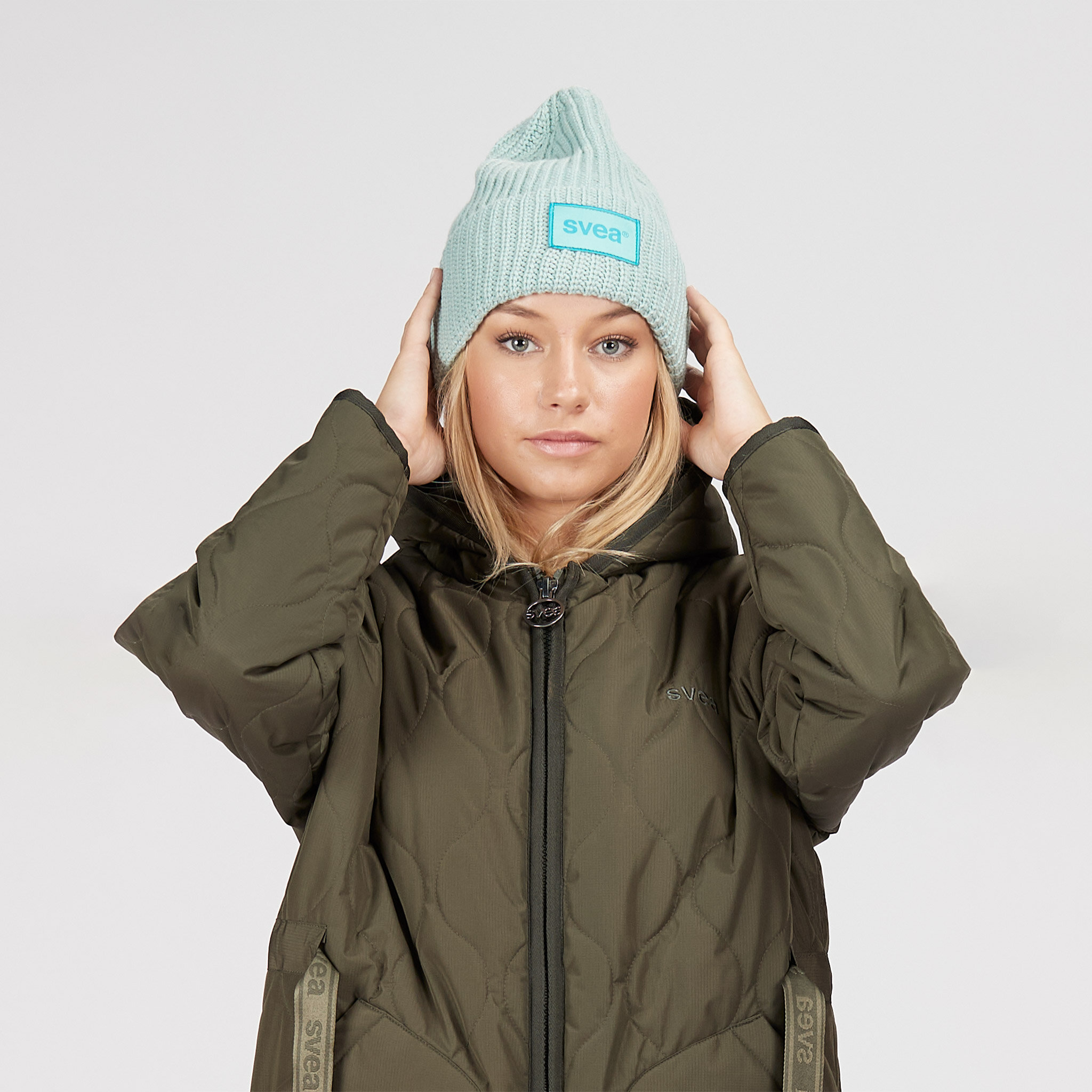 Big Badge Svea Hat, aqua