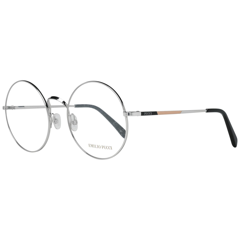 Emilio Pucci Women's Optical Frames Eyewear Silver EP5061 55018