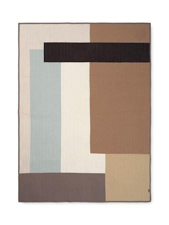 Shay Patchwork Quilt Blanket Desert