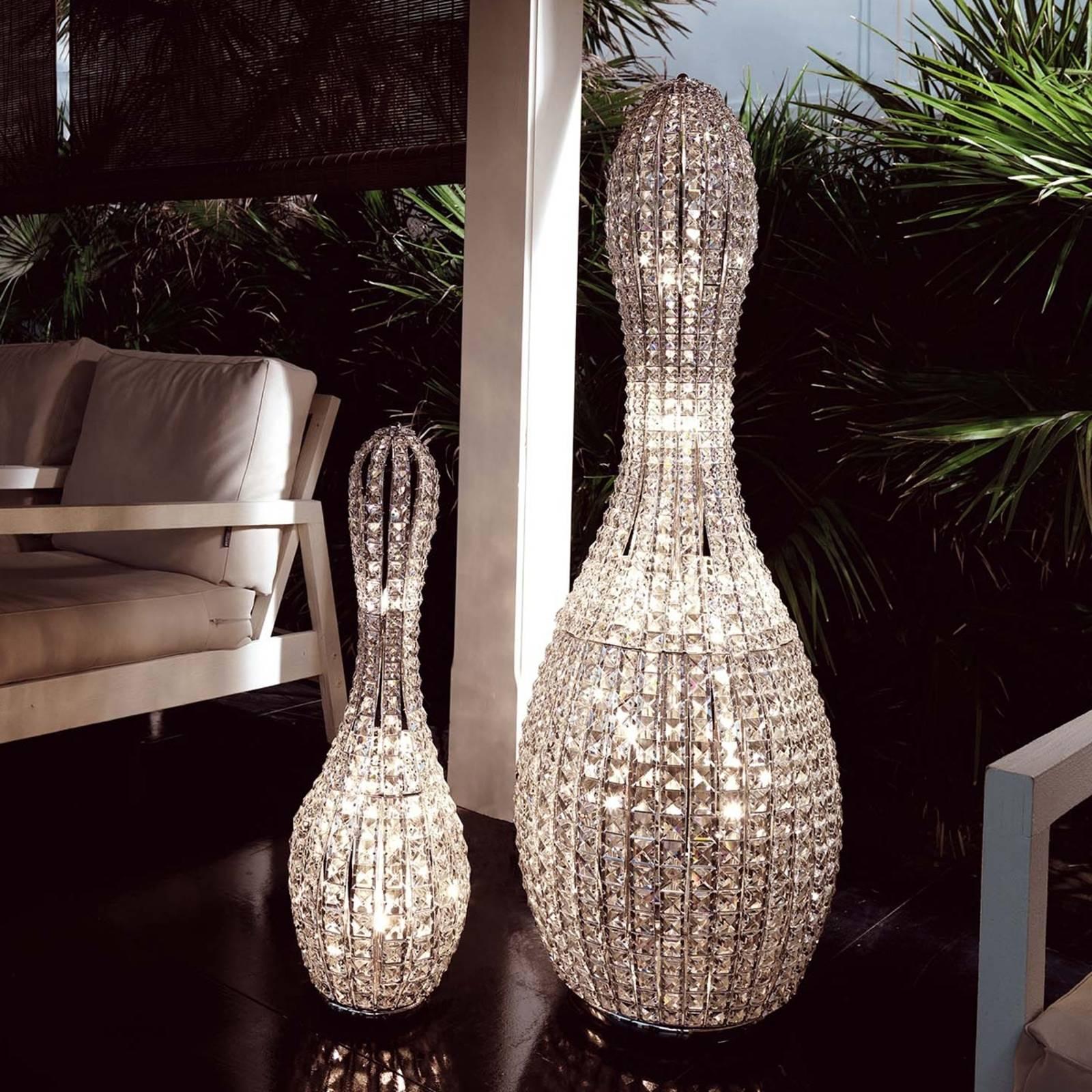 Kristallipöytälamppu Brillo