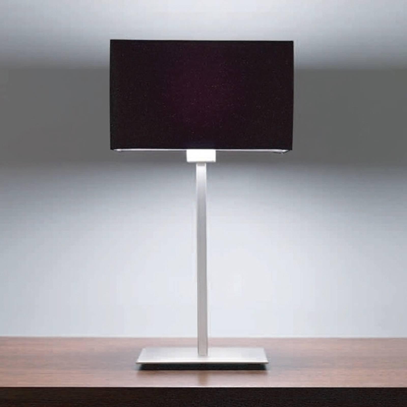 Astro Park Lane - bordlampe nikkel matt/svart