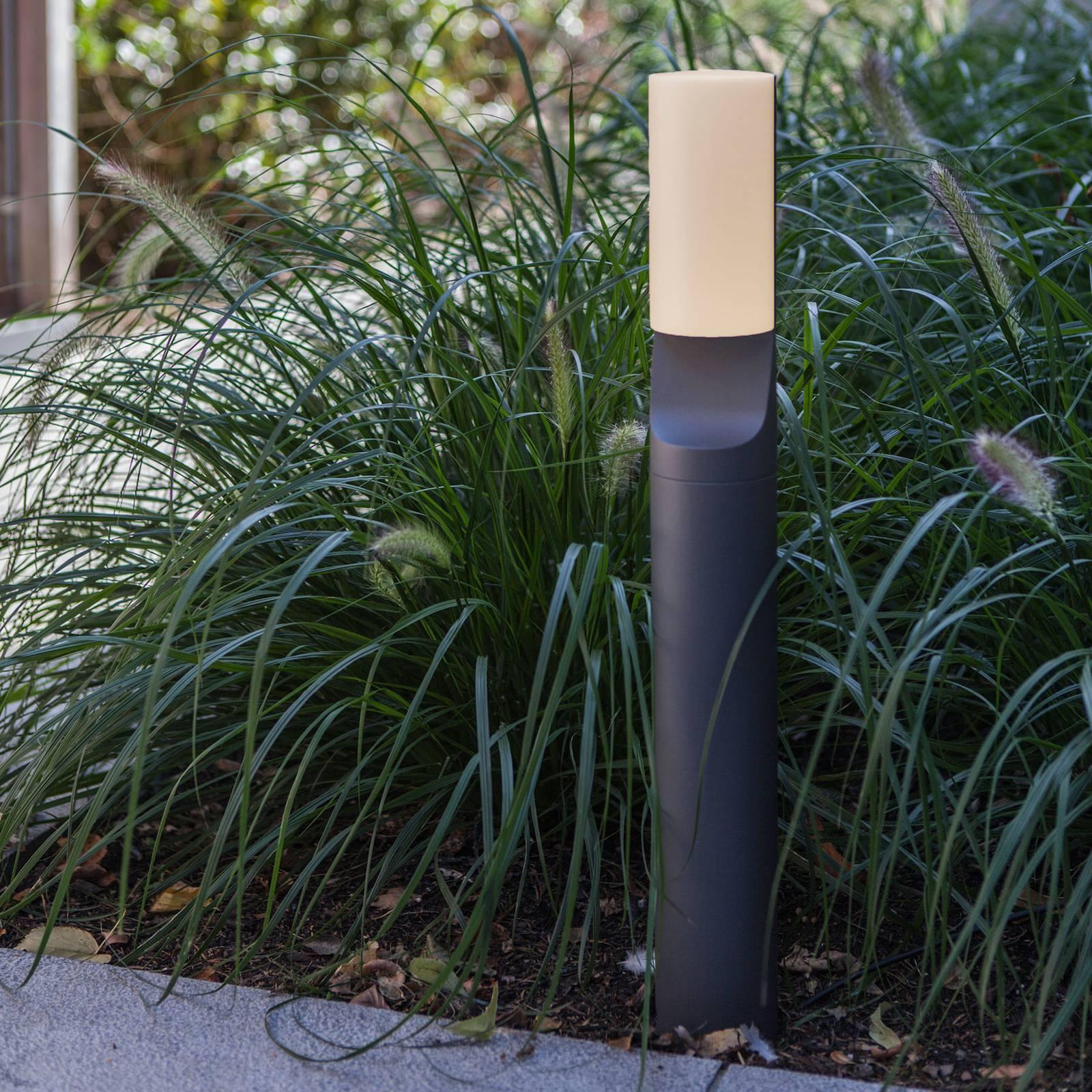 LED-pylväsvalaisin Bati, puolipyöreä diffuusori