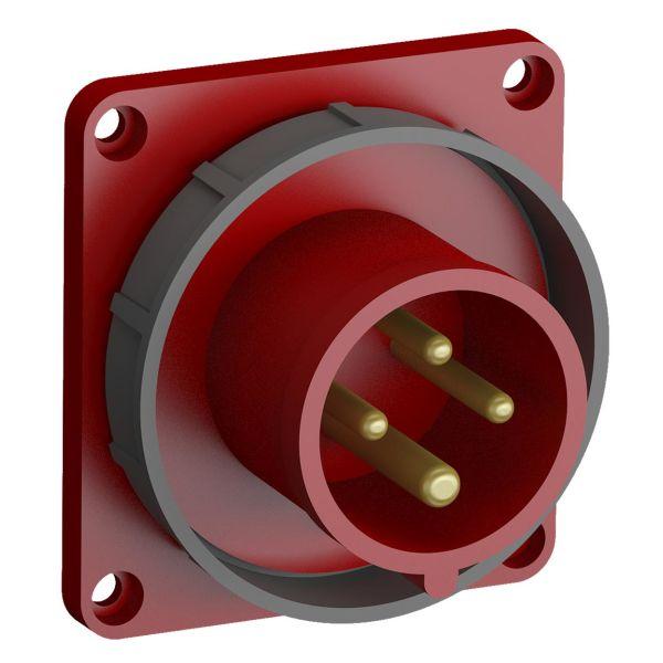 ABB 2CMA102321R1000 Paneelin sisääntulo pikaliitettävä, tärinänkestävä Suora, 4-nastainen, 16 A