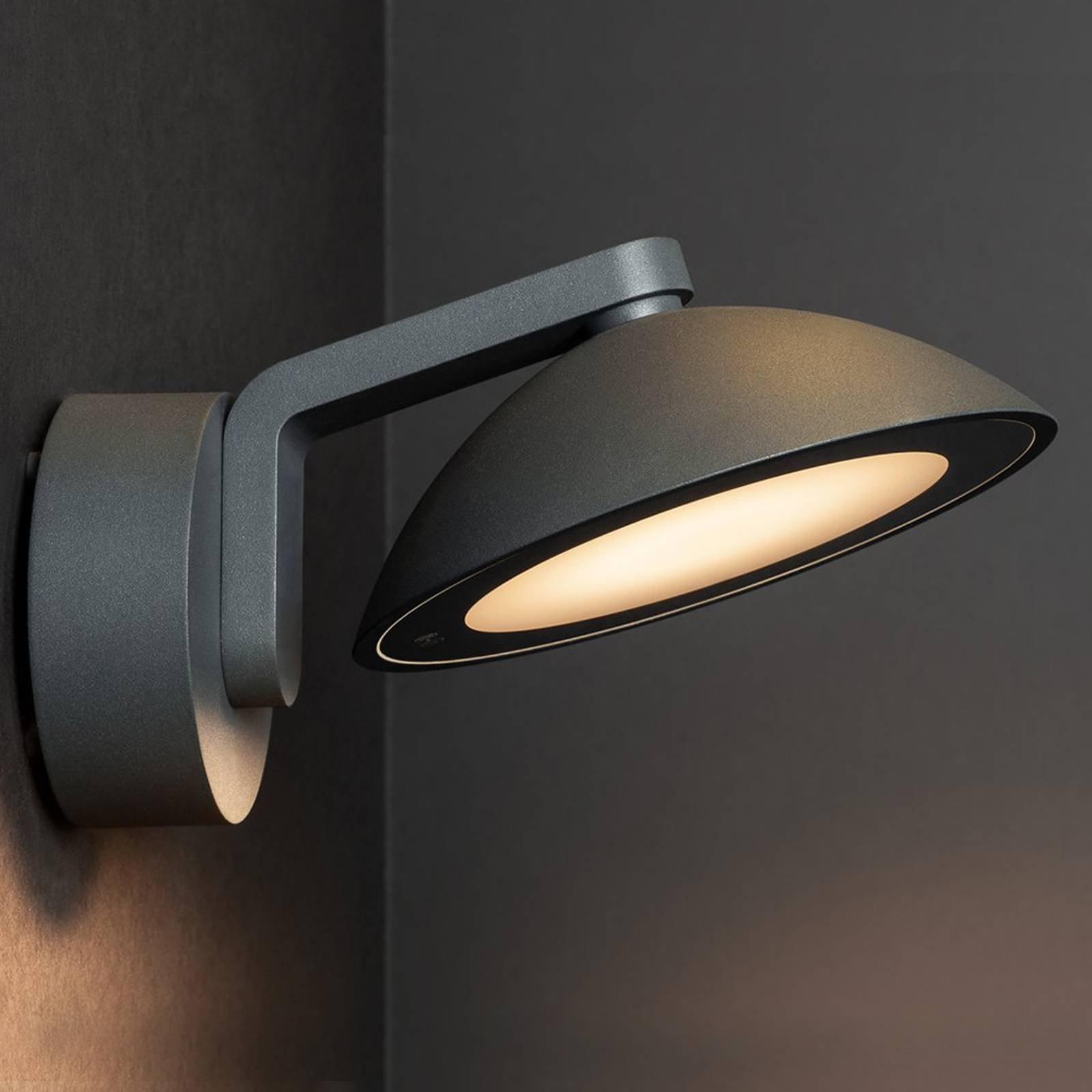SLV Malu utendørs LED-vegglampe, rund