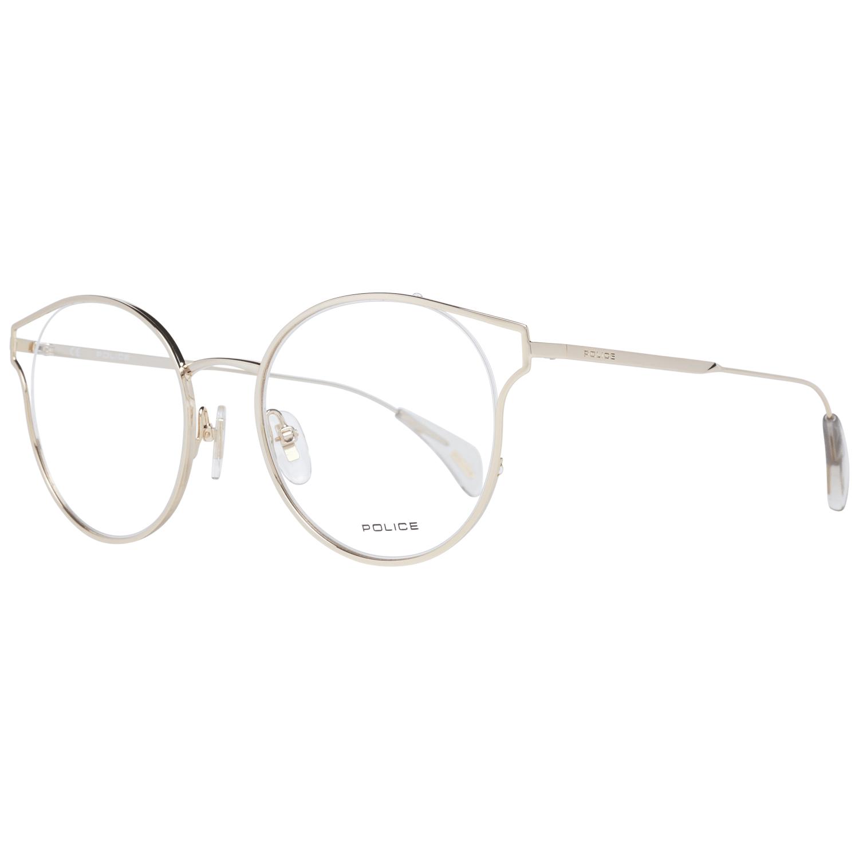 Police Women's Optical Frames Eyewear Rose Gold PL926 500300