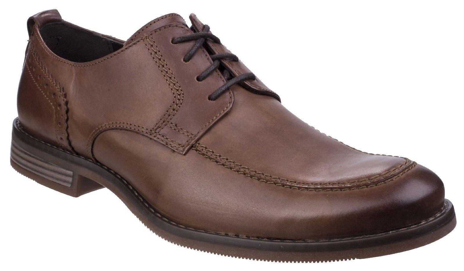 Rockport Men's Wynstin Apron Toe Lace Oxford Shoe Brown 26790 - Brown 7