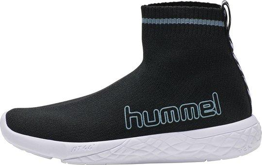 Hummel Terrafly Sock Runner Jr Sneaker, Black, 26