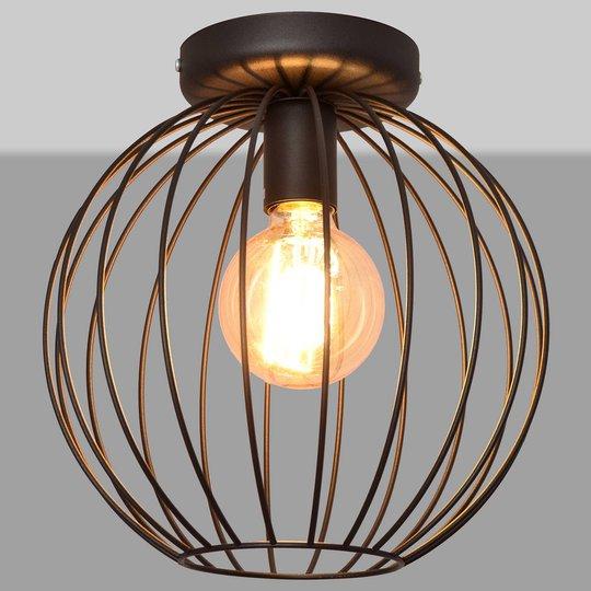 Cumera taklampe med åpen bur-skjerm, Ø 30 cm
