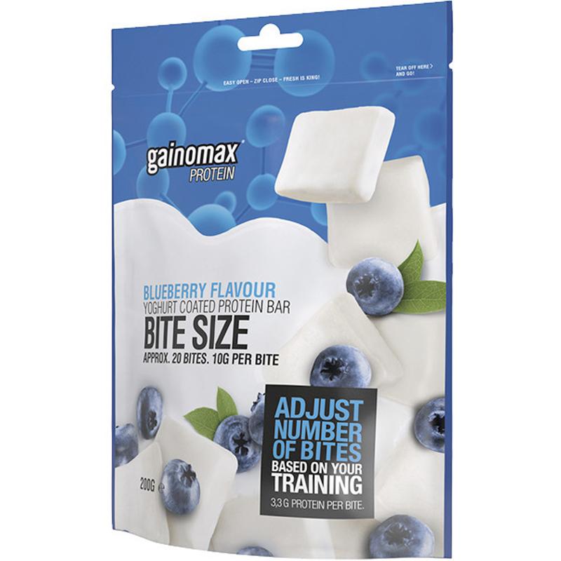 """Proteinbar """"Bite Size"""" Blåbär 200g - 91% rabatt"""