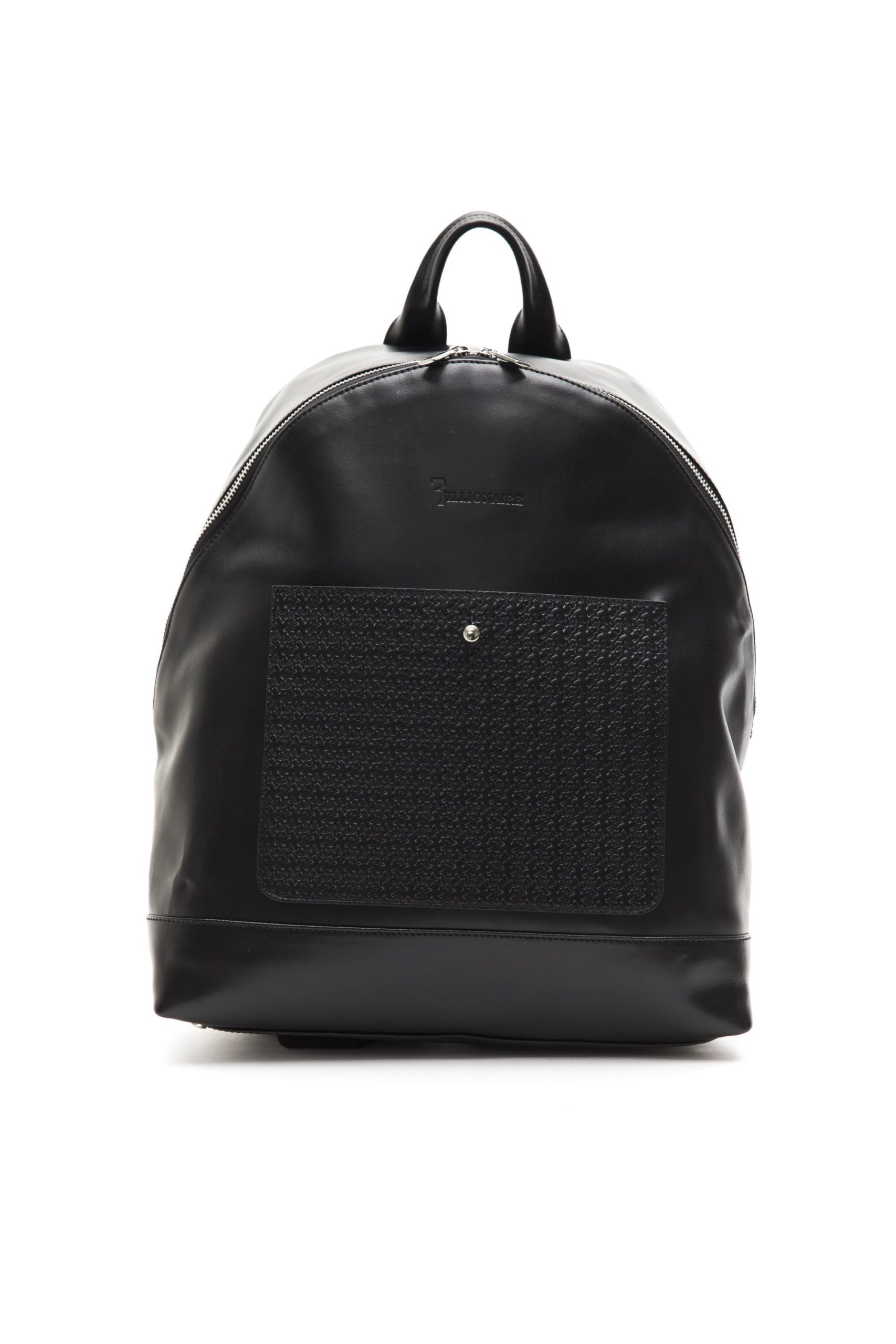 Billionaire Italian Couture Men's Nero Backpack Black BI1004091