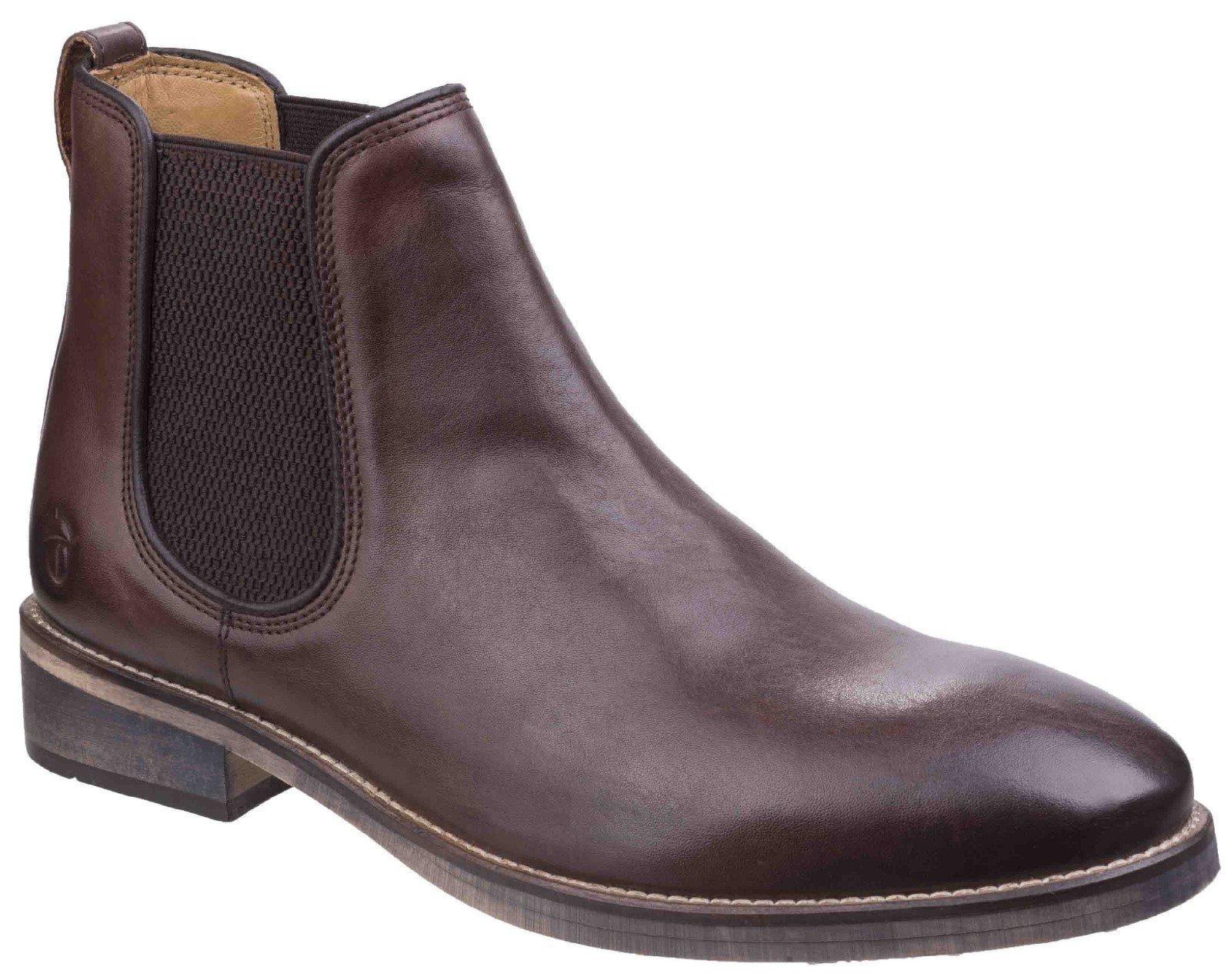 Cotswold Men's Corsham Chelsea Boot Various Colours 26268 - Dark Brown 6
