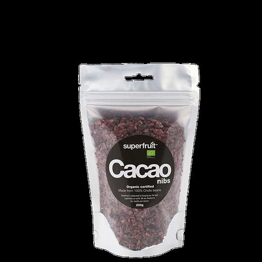 Kakaonibs RAW EKO, 200 g