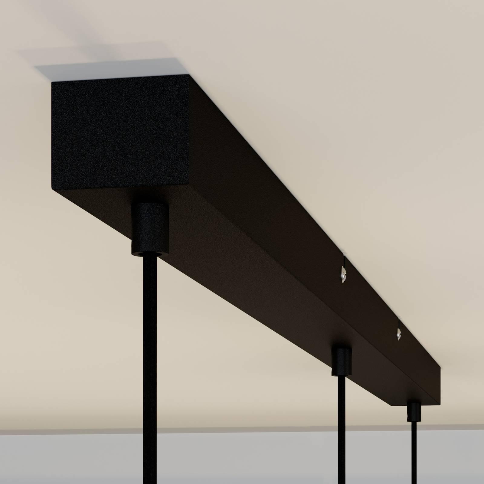Lindby Sofian -riippuvalaisin 3-lampp. savunharmaa